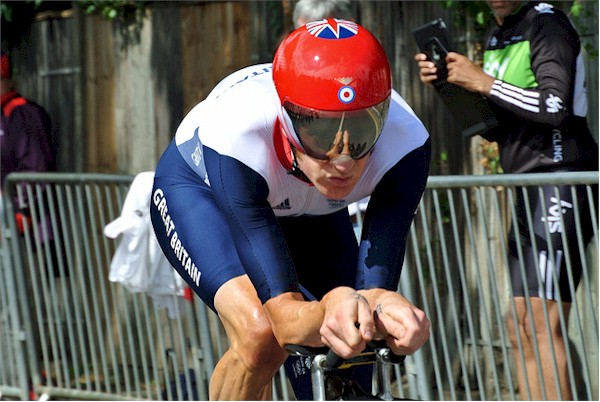 Bradley Wiggins London 2012 Gold Medal Time Trial Ride