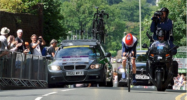 Chris Froome London 2012 Bronze Medal Time Trial Ride