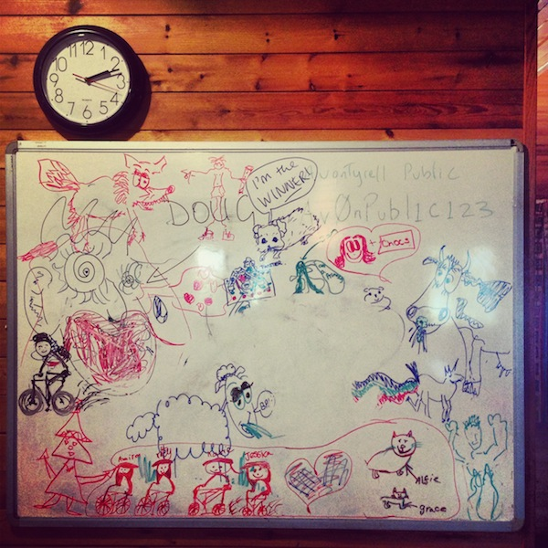 White Board in the New Forest