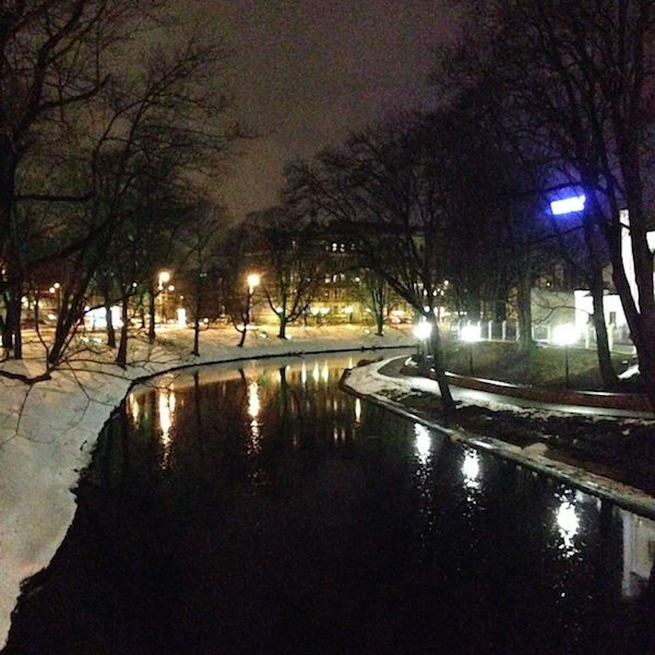 The Canal in Kronvalda Park