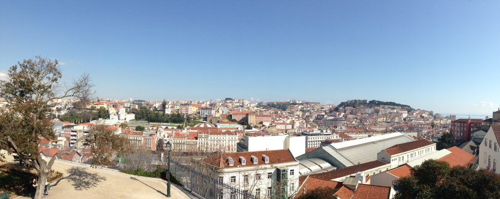 Sunlight Over Lisbon