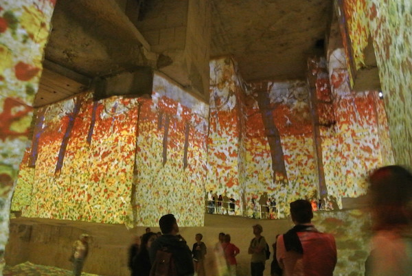 Art Exhibition in Baux, Southern France